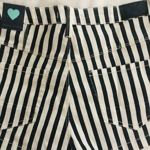 Kendall & Kylie Shorts - High waist striped shorts